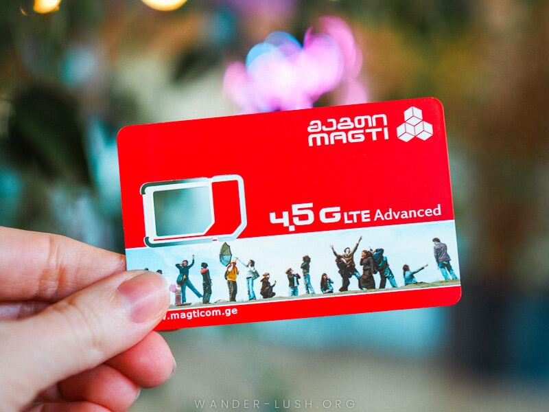 A complete guide to buying & activating a Georgian sim card. Includes a comparison of the best Georgian mobile providers plus instructions for topping up.
