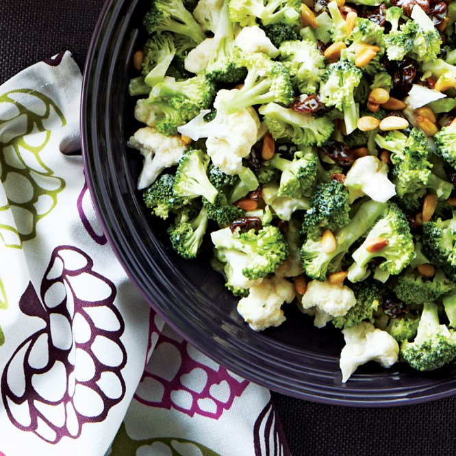 Cauliflower & Broccoli Salad