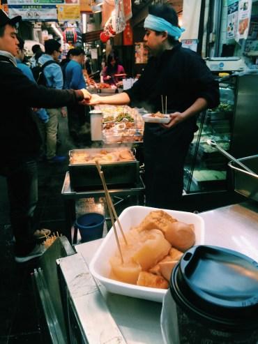 Oden for breakfast!
