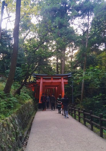 Endless torii gate
