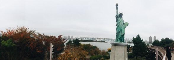 Statue of Liberty - Odaiba