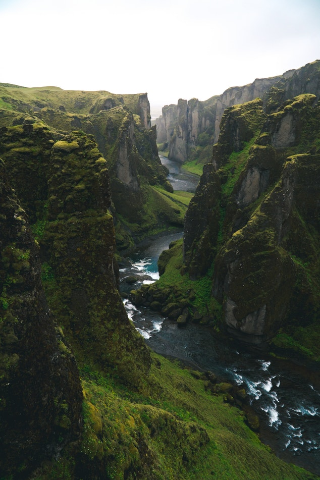 Icelandic Gorge