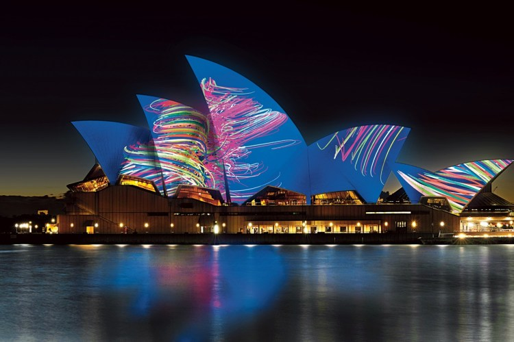 sydney opera house lighting the sails artist impression by universal everything1