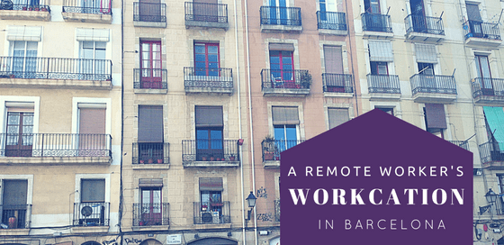 workcation in barcelona