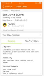 VIPKid Screenshot