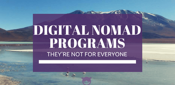 Digital Nomad Programs