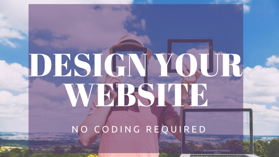 Create a website without any coding