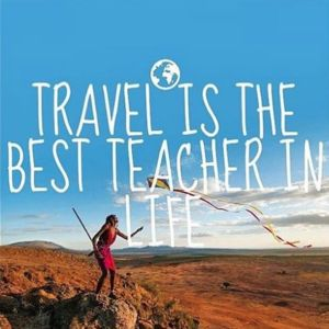 teach to travel quote