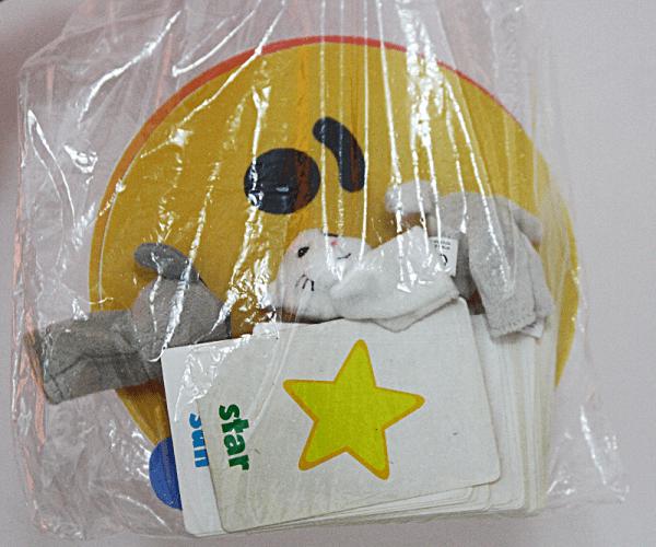 minimalist teaching prop bag