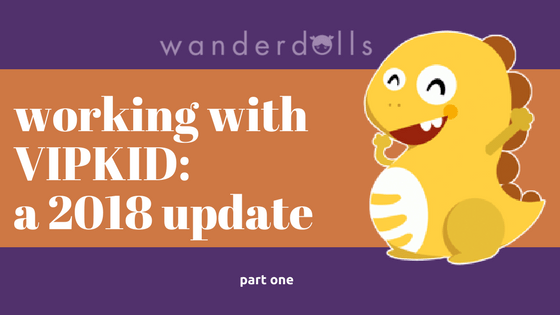 picture relating to Vipkid Printable Props named Operating With VIPKID: A 2018 Improve - Component One particular Wanderdolls