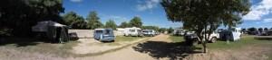 Unser Campingplatz bei Coral Bay