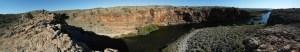 Panorama vom Creek