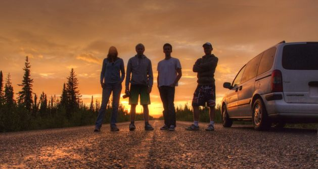 Von links: Isabel, Maik, Patrick und ich