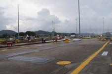Der Panama Kanal vom Boden aus gesehen