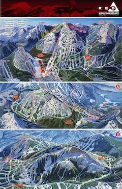 Karte von RED