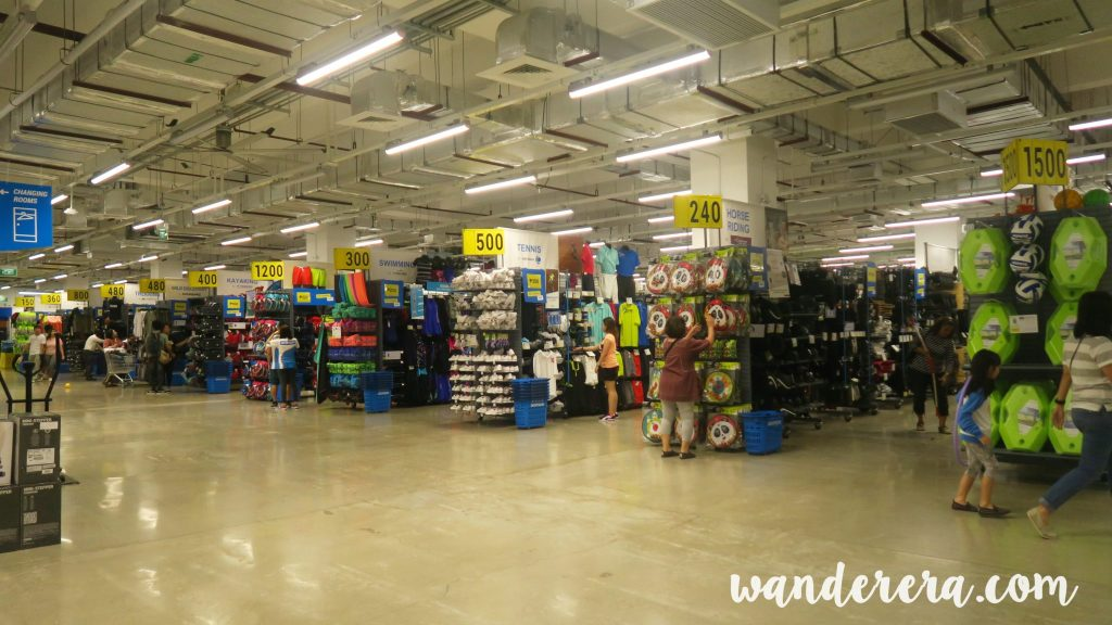 Rows of quality products at an affordable price