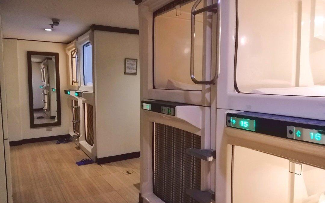 Kabayan Hotel Pasay: Kapsule (Capsule) Room Review