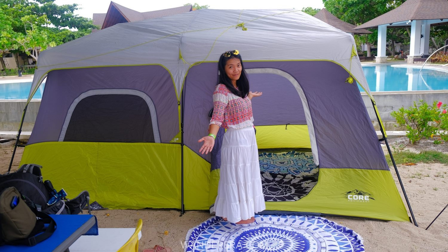 playa calatagan beach glamping