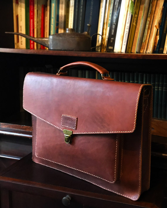 Hudson Leather Bag by Wanderer Handcrafted