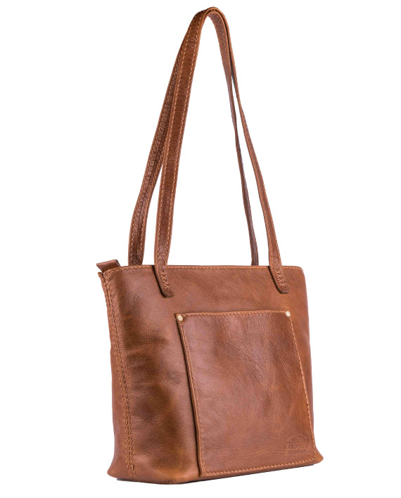 Leather handbag lilah from Wanderer