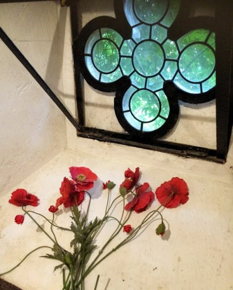 Poppies at Sudeley Castle
