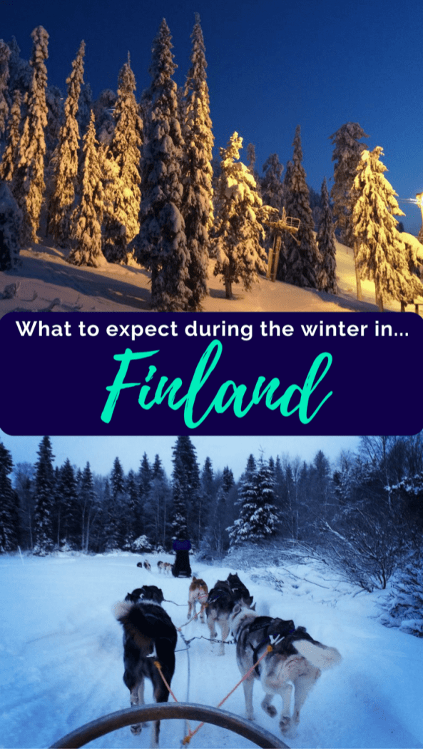 What to Expect During the Winter in Finland