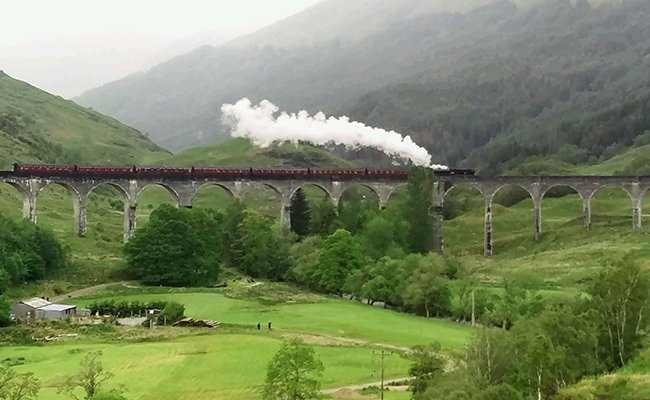 The Story Behind The Photo: The Hogwarts Express