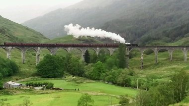 Harry Potter Train, Scotland