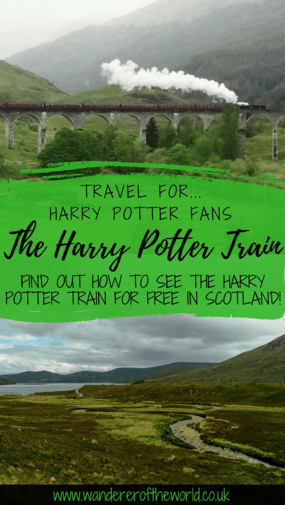How To See The Harry Potter Train For Free - including info on where to stand, where to park and what times the Jacobite steam train goes along Glenfinnan Viaduct