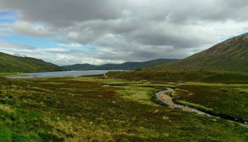Explore Scotland by car: Scotland landscape