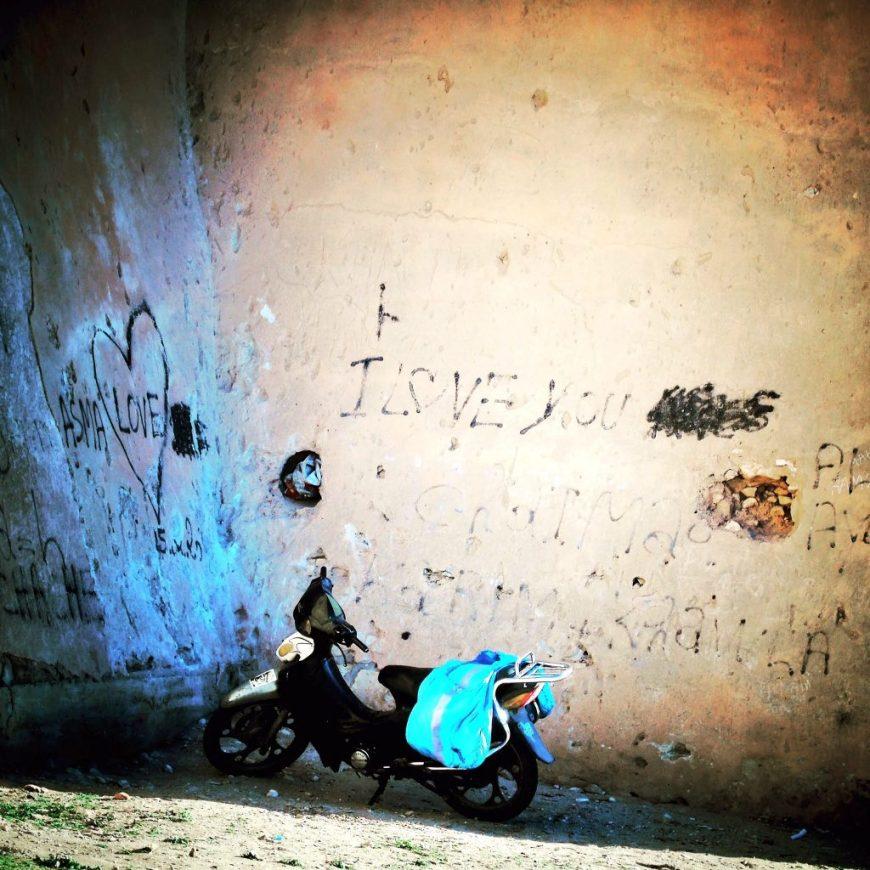 Morocco Vespa