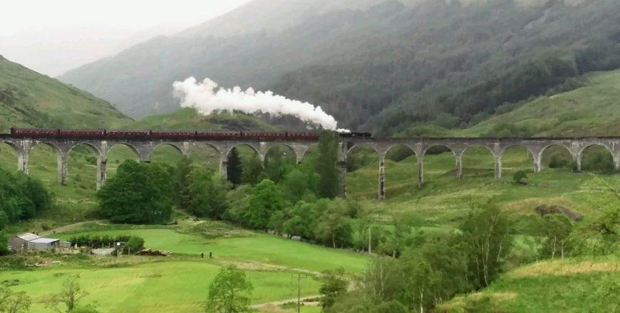 Harry Potter Train, Scotland