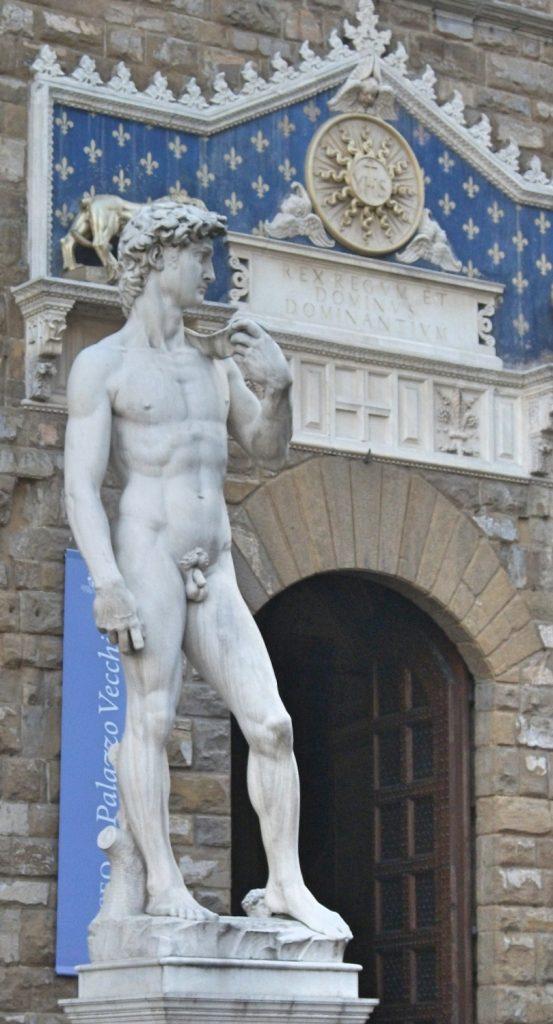 Replica David Statue, Florence, Italy