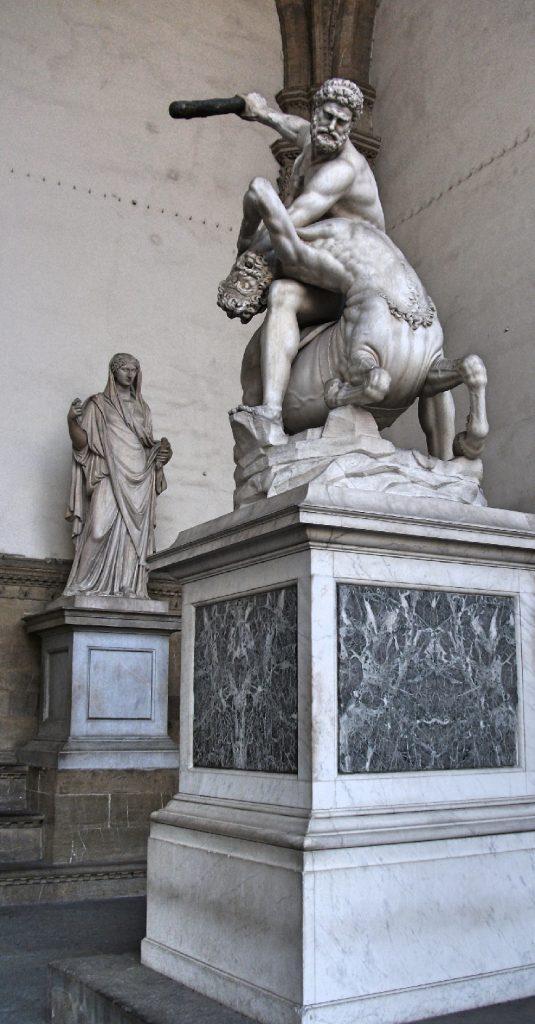 Piazza Della Signoria Statues, Florence, Italy