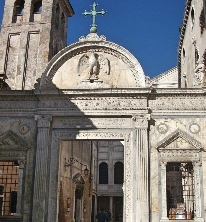 Scuola Grande San Giovanni Evangelista, Venice, Italy