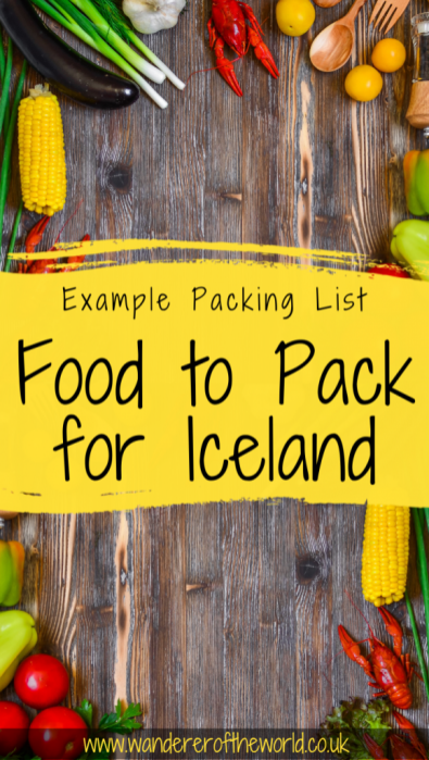 Food To Pack For Iceland: 15 Items You Can't Travel Without