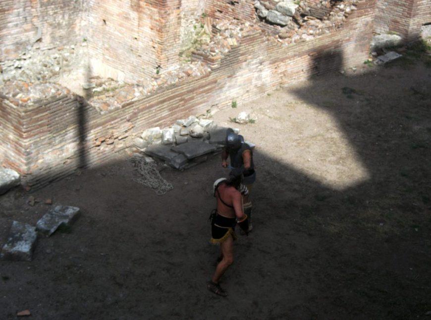 Roman Gladiators, Rome, Italy