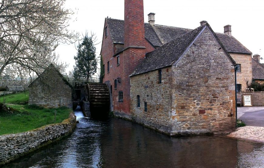 Lower Slaughter Shop, England