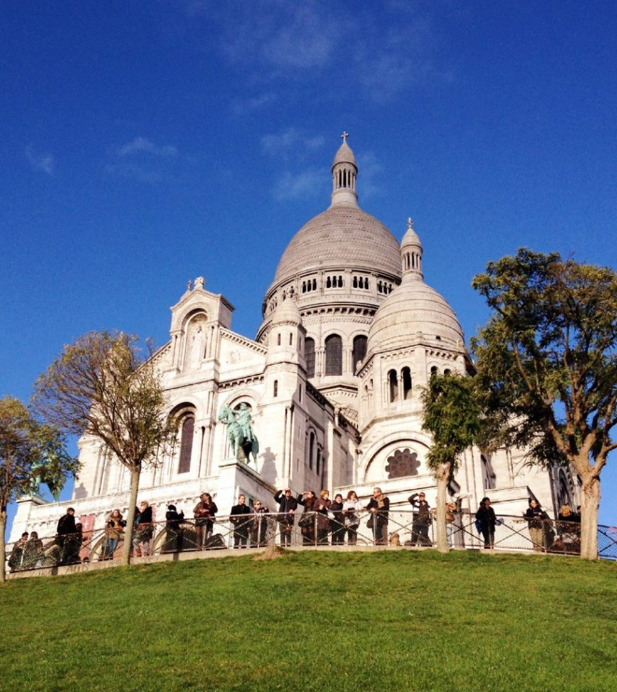 Sacre Coeur Basilica in summer