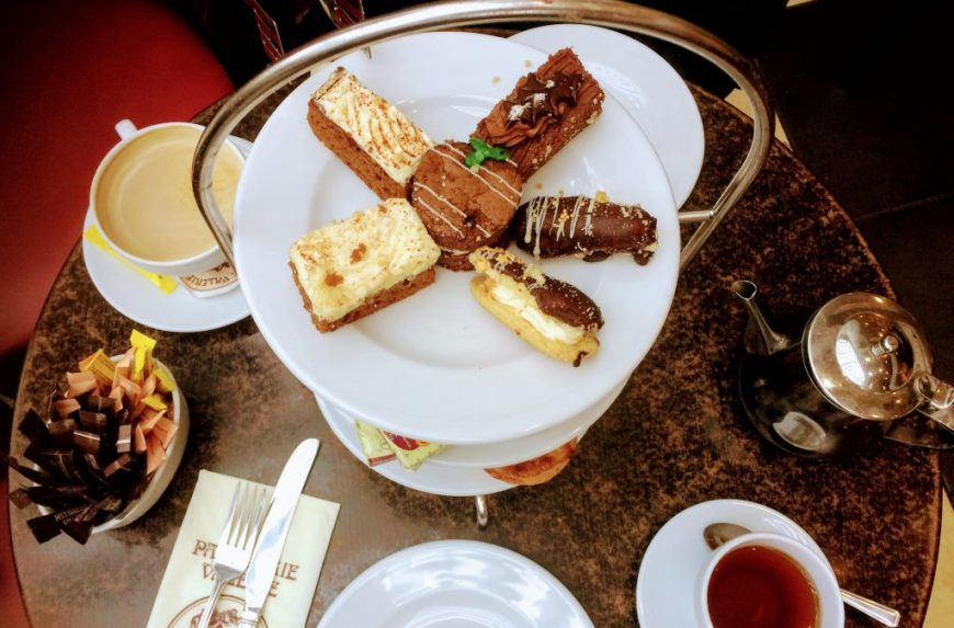 Patisserie Valerie Festive Afternoon Tea