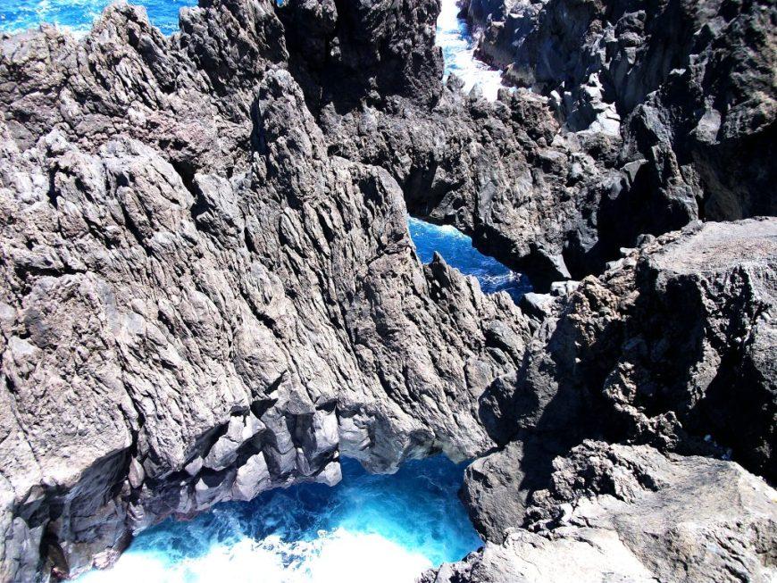 Madeira Porto Moniz Volcano Caves