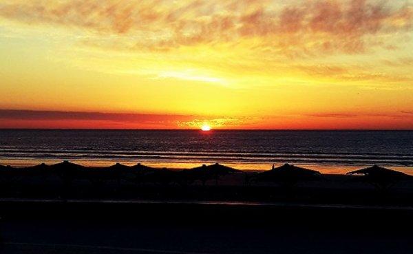 Morocco Agadir Beach Sunset