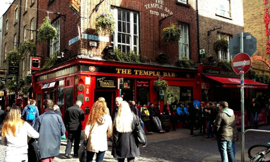 The Temple Bar, Dublin