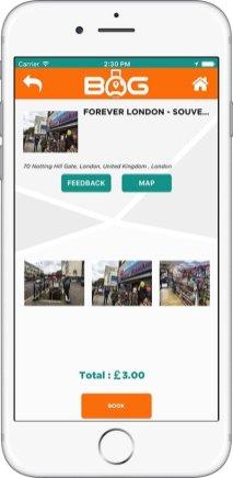 BagAPP - Screenshot 3