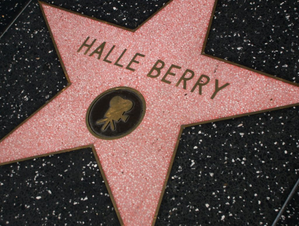 halle berry hollywood walk of fame star