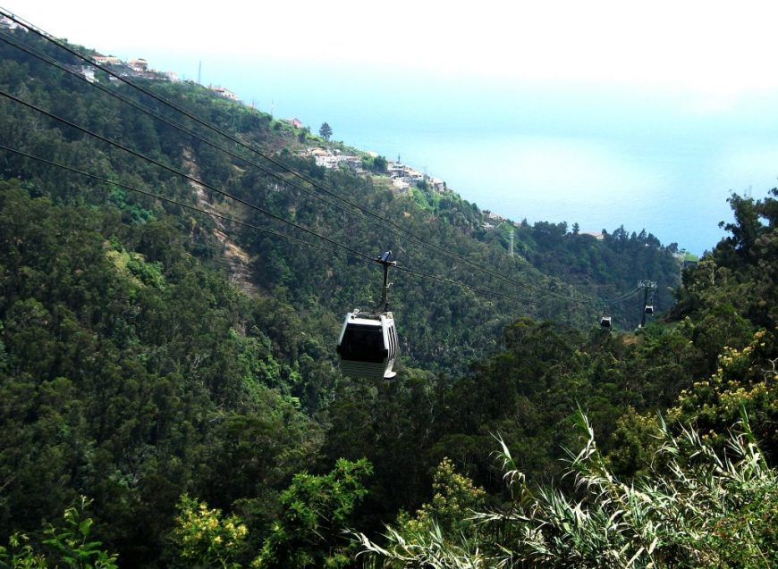 Getting Around Madeira: Cable Car