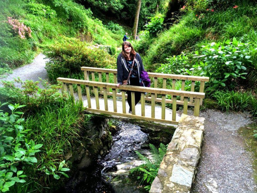 Wales Bodnant Gardens