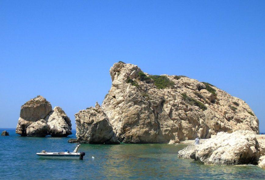 Aphrodite's Rock, Petra Tou Rominou, Cyprus