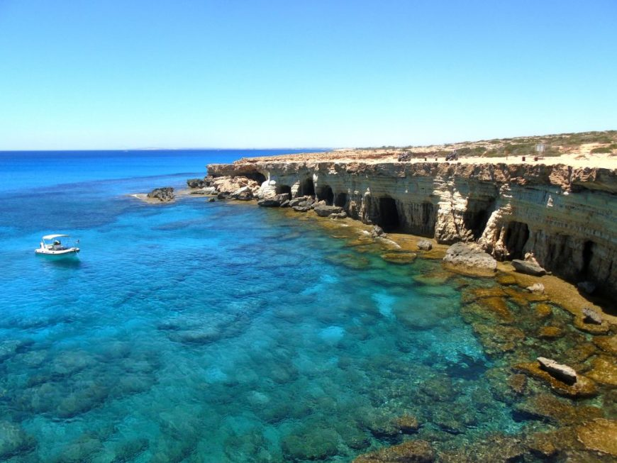 Cyprus Beaches: Sea Caves, Ayia Napa, Cyprus