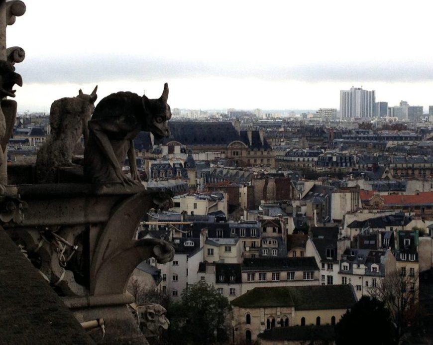 Paris Notre Dame Gargoyles